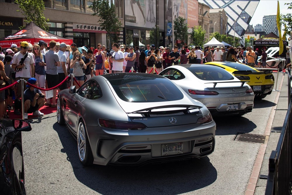 The 2016 Yorkville Exotic car show