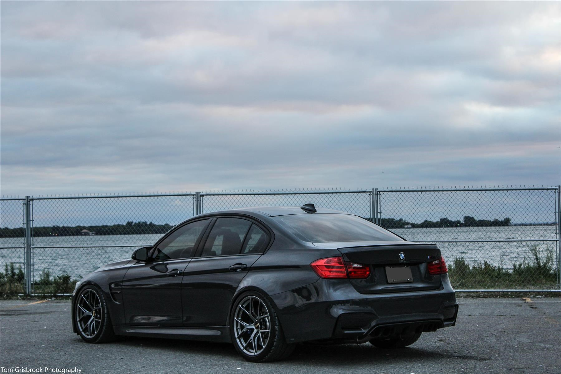 BMW M3 on a clean set of BBS wheels