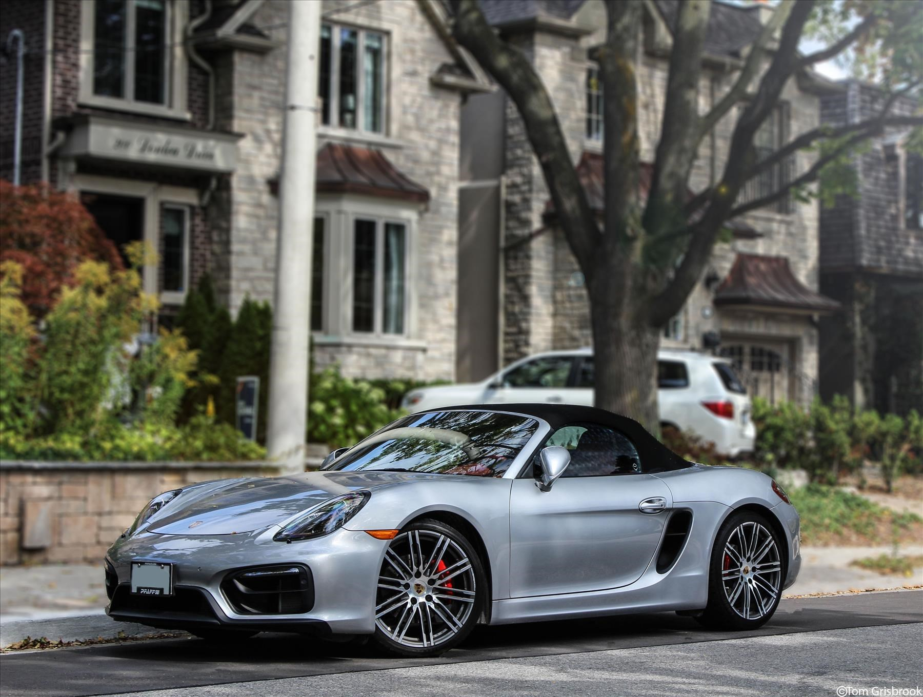 Porsche Boxster GTS Liquid Silver Metal Exclusive