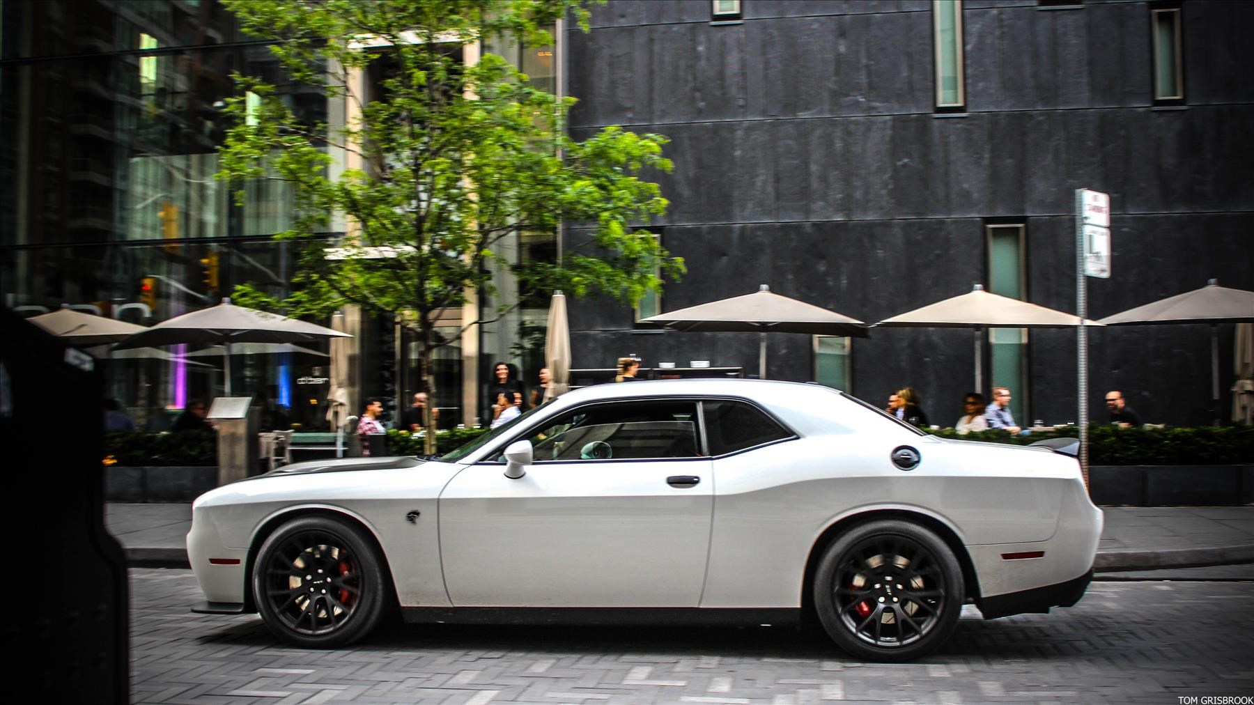 The 707 hp Dodge Challenger Hellcat