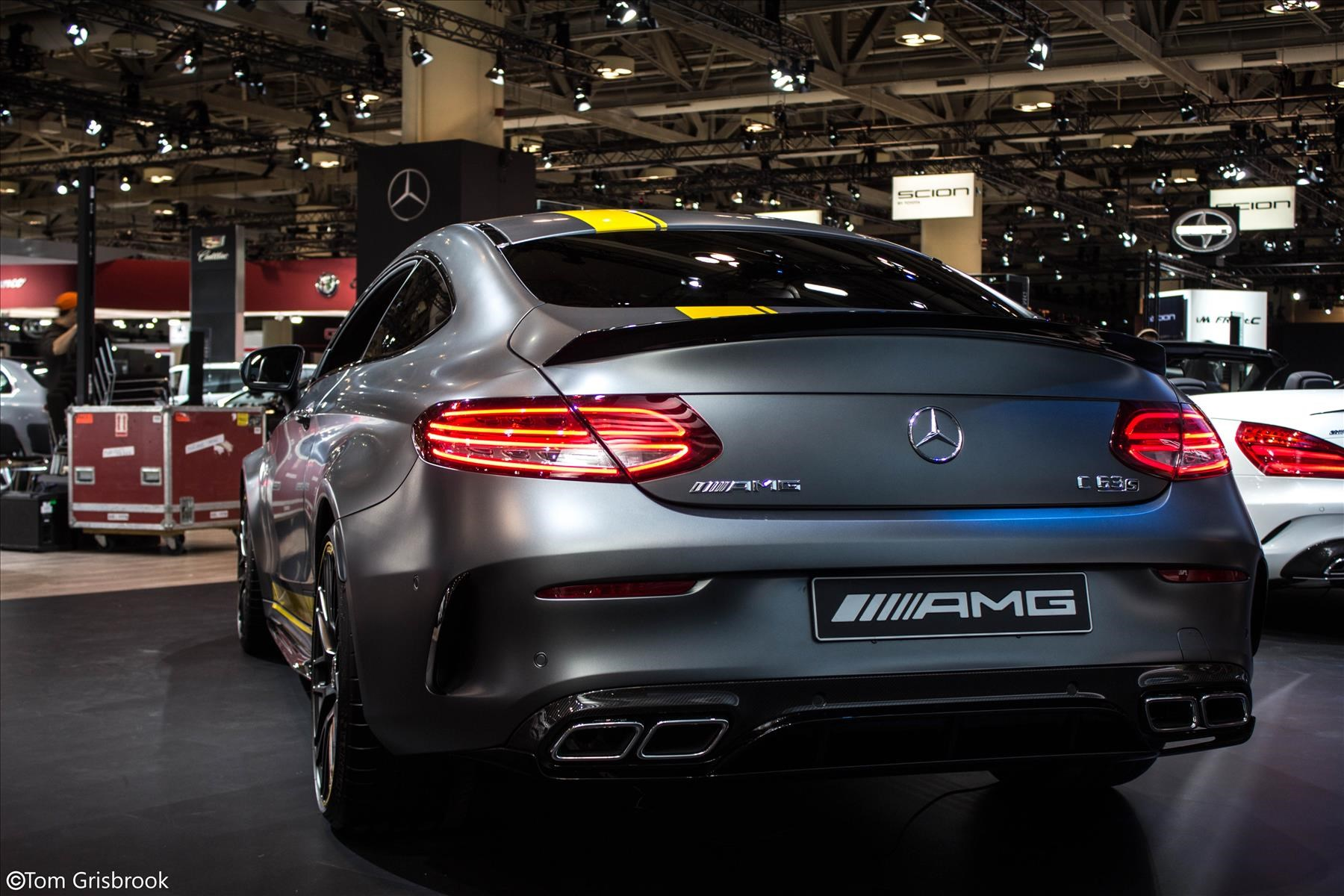 The all new 2016 Mercedes Benz C63 AMG Coupe Edition 1