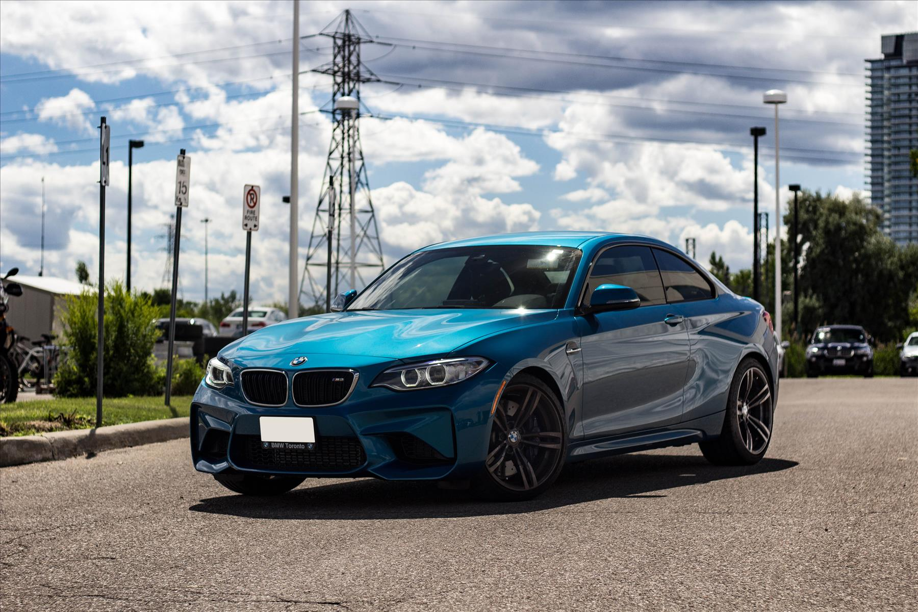 The All New BMW M2 in A Stunning Long Beach Blue!