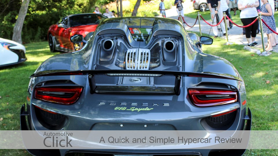 A Quick Review of the Modern Hypercar